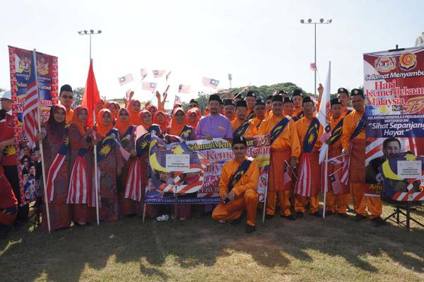 Sambutan Hari Kemerdekaan Malaysia ke-55 Peringkat Negeri Kelantan Tahun 2012