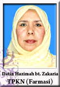 TPKN FARMASI - Datin Hazimah binti Zakaria