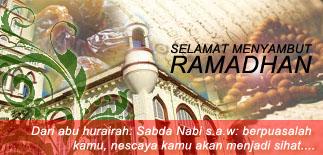 Selamat Menyambut Ramadan & Klik utk Jadual Waktu Imsak & Berbuka Puasa Bg Malaysia 1440H/2019M