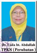 TPKN PERUBATAN - Dr. Laila binti Abdullah