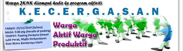 Program Aktiviti Kecergasan JKNK 2014