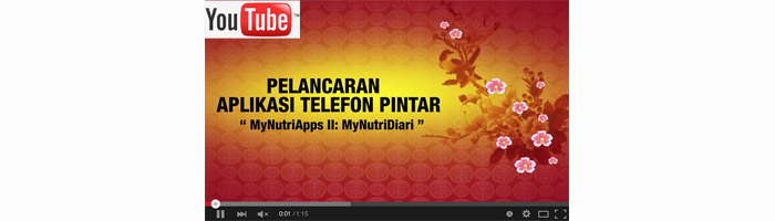 Video Montage MyNutriDiari - Klik untuk melihat video.