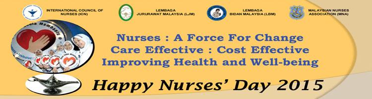 Jabatan Kesihatan Negeri Kelantan mengucapkan Selamat Hari Jururawat.