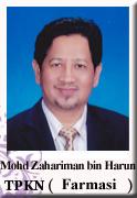 TPKN FARMASI - Mohd Zahariman bin Harun