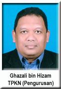 TPKN PENGURUSAN - Ghazali bin Hizam