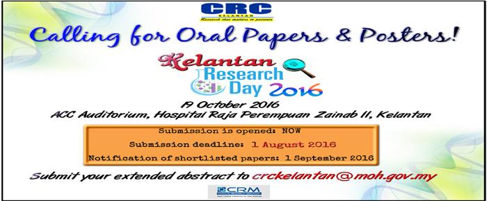 Kelantan Research Day 2016