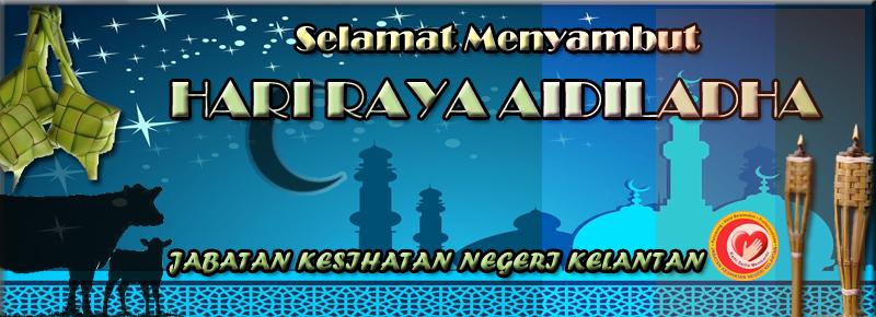 Selamat menyambut Hari Raya Aidiladha