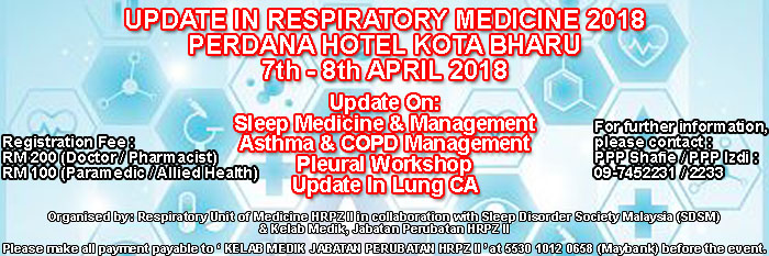 Respiratory Update HRPZ II KB Tahun 2018