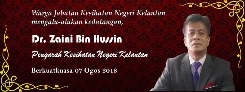 Selamat Datang Dr. Zaini bin Hussin