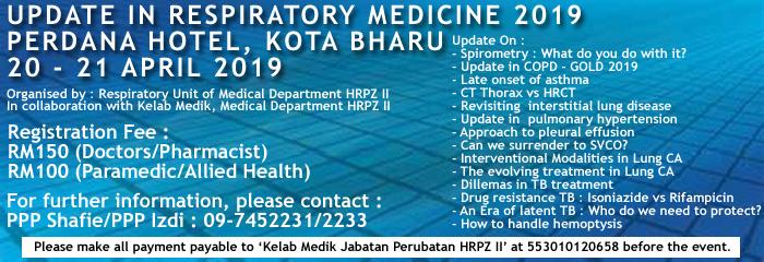 HRPZ2KB Update in Respiratory Medicine 2019