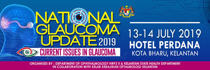 National Glaucoma Update 2019 - Click on banner for further information