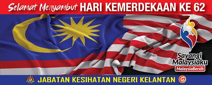 Selamat Menyambut Hari Kemerdekaan Ke-62