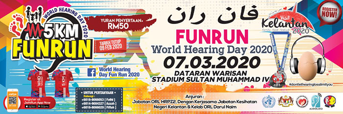 Fun Run World Hearing Day 2020