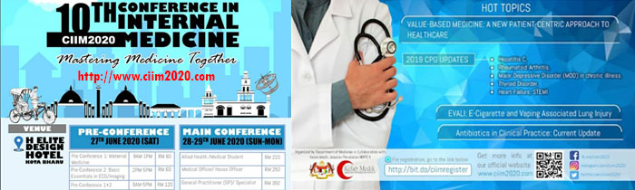 10th Conference in Internal Medicine (CIIM) 2020