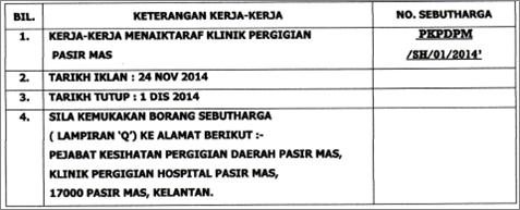 PKP Pasir Mas_Naiktaraf Klinik