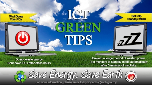 ICT Green Tips